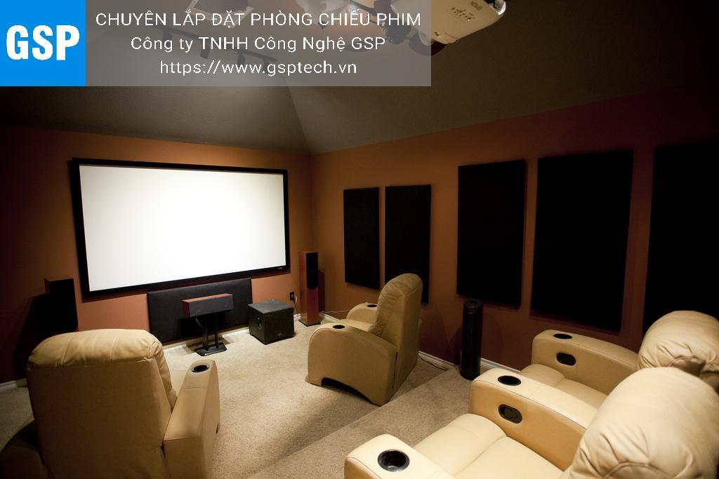 """""""Bật mí"""" cách làm phòng chiếu phim HD, 3D-4D giá rẻ cho mọi nhà."""