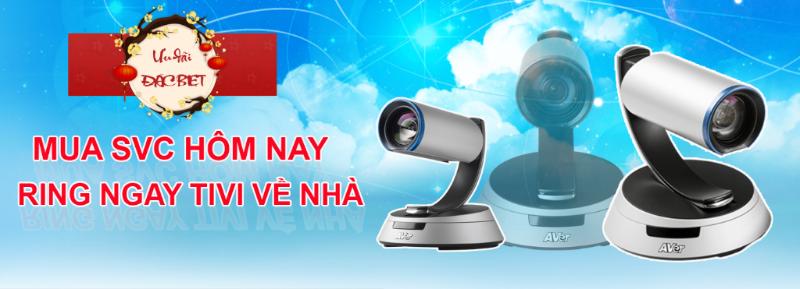 Mua Aver SVC series – Tặng Tivi LCD Samsung 55inch