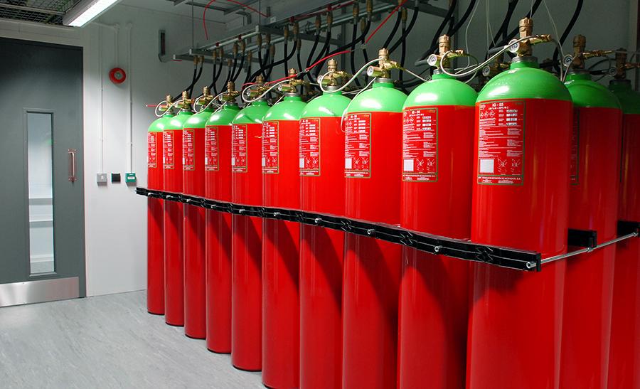 Giải pháp chữa cháy bằng khí sạch