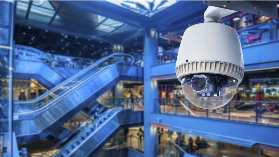 Giải pháp camera giám sát cho trung tâm thương mại
