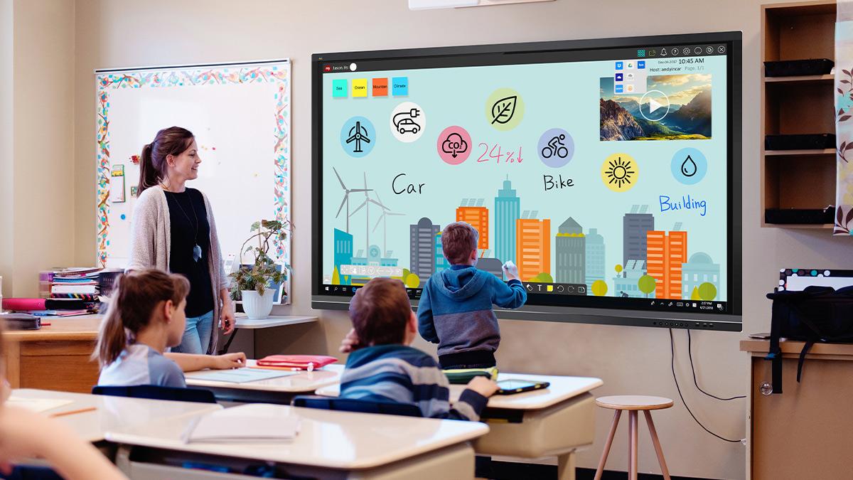 Lợi ích khi sử dụng màn hình tương tác trong lớp học