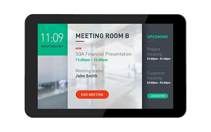 Giải pháp hiển thị lịch phòng họp và quản lý phòng họp